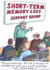 Short Term Memory Loss Support Group: 'Good evening. You're probably all wondering why you just walked into this room.'